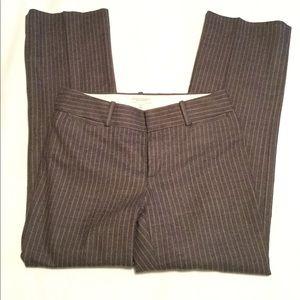 Banana Republic Striped pants, Martin Fit, sz 4